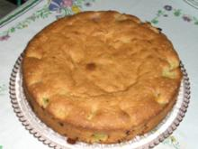 Baselbieter Rhabarberkuchen - Rezept