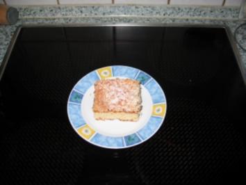 Butter-Zucker-Kokos Kuchen - Rezept