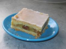Gedeckter Apfel-Blechkuchen - Rezept