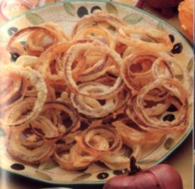 antipasti anelli di cipolla fritti - Rezept