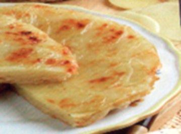 antipasti  kartoffeln ùberbacken  mit parmisankàse - Rezept