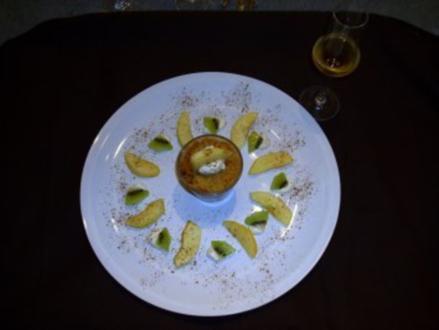 Crumbele mit Äpfel und Marzipan - Rezept
