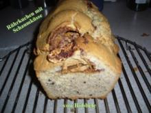 Kuchen: Rührkuchen mit Schaumküsse - Rezept