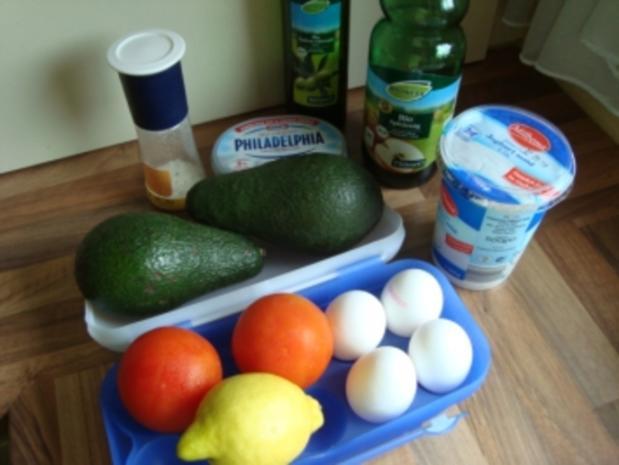*Vorspeise - Pochierte Eier auf Avocadocreme - Rezept - Bild Nr. 2