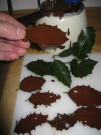 Schokoladenblätter Herstellung ganz einfach  TIPPS & TRIKS - Rezept