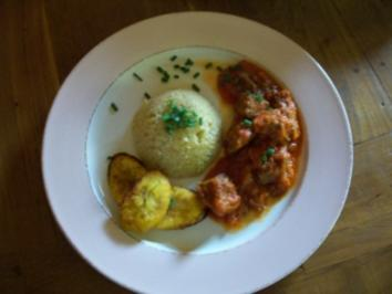 "Stew from Nigeria    ""very hot"" - Rezept"