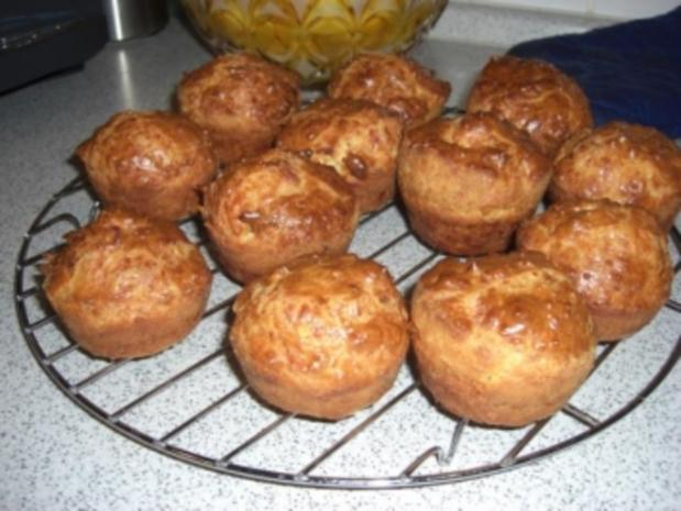 Käse-Muffins - Rezept
