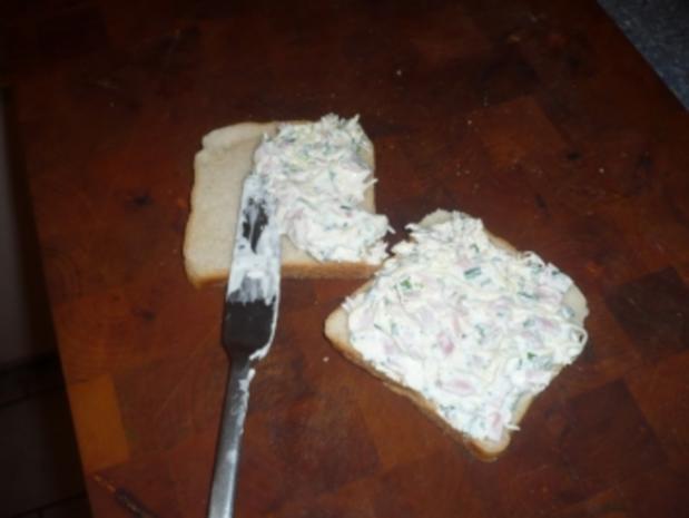 Sauerrahm - Toast mit Schinken - Rezept - Bild Nr. 2