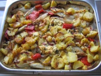 Chicoree mit Schafskäse überbacken - Rezept