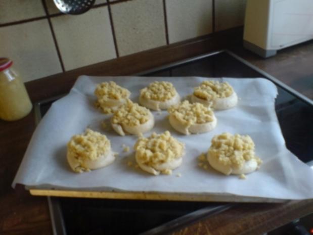 Kuchen  Feine Apfel-Mandel-Schnecken - Rezept - Bild Nr. 3