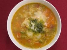 Minestrone al Pesto - Rezept