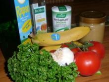 Tomaten-Bananen-Salat mit Petersilienpesto - Rezept