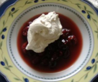 Kirschen in Marsala - Rezept