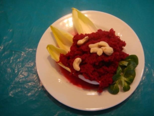Salat: Rote Beete Salat - Rezept