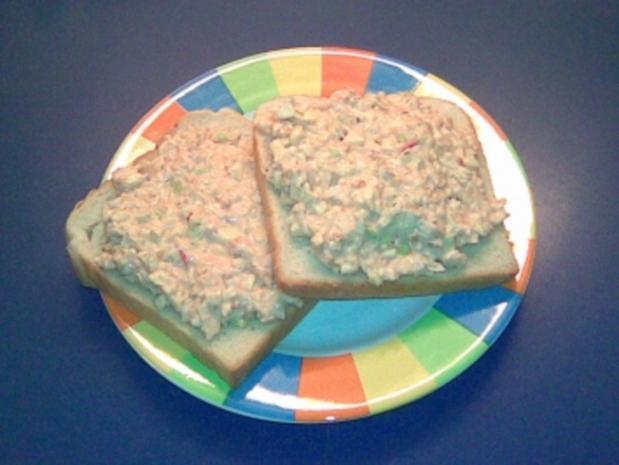 Käse auf's Brot - Rezept