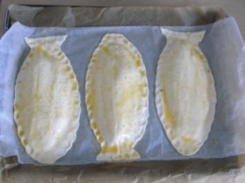 Tilapiafilet im Blätterteigmantel an Basmatireis und Buttergemüse - Rezept