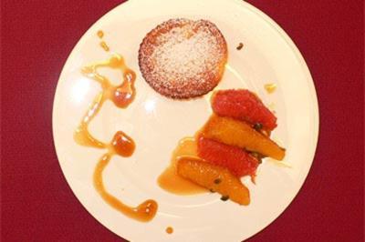 Käseküchlein mit Orangen - Rezept
