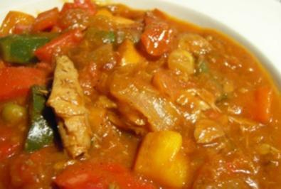 Cremige Thunfisch-Gemüse Pfanne - Rezept