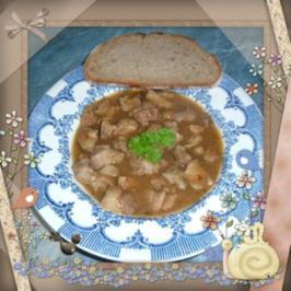 Fleisch : Zwiebelfleisch - Rezept