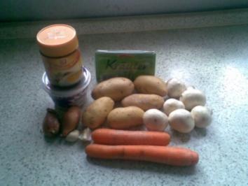 Cremige Kartoffel-Möhren-Suppe - Rezept