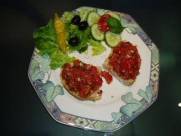 Bruschetta von mir-das Brot von italy - Rezept