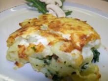 Kartoffel-Spinat-Gratin - Rezept