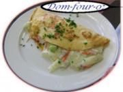 Gemüse-Pfannkuchen mit Käse - Rezept