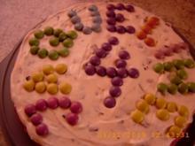 Stracciatella - Kuchen - Rezept