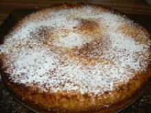 Kokos trifft auf Pfirsischkuchen - Rezept