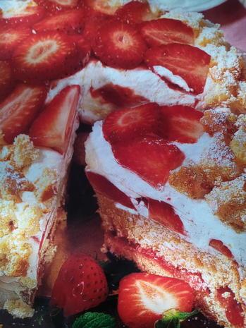 Erdbeer Flocken-Torte - Rezept - Bild Nr. 3808