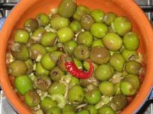 antipasti gewùrtzte oliven - Rezept