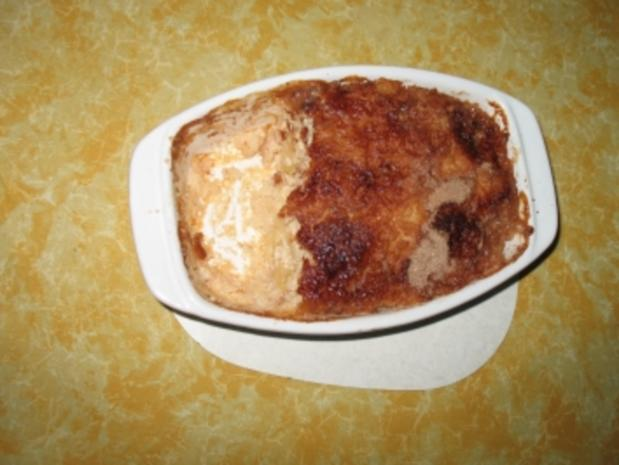 Milchreis-Apfel-Auflauf - Rezept