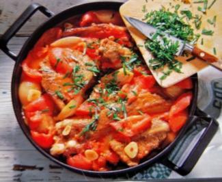 Rezept: Geschmorte Tomaten Rippchen