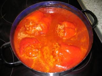 Hauptgericht: Gefüllter Paprika - Rezept