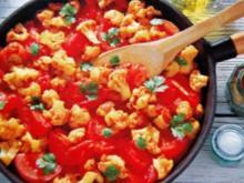 Orientalisches Tomatengemüse - Rezept