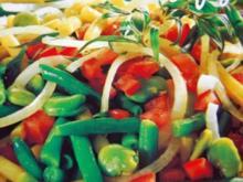 Dreierlei Bohnensalat - Rezept