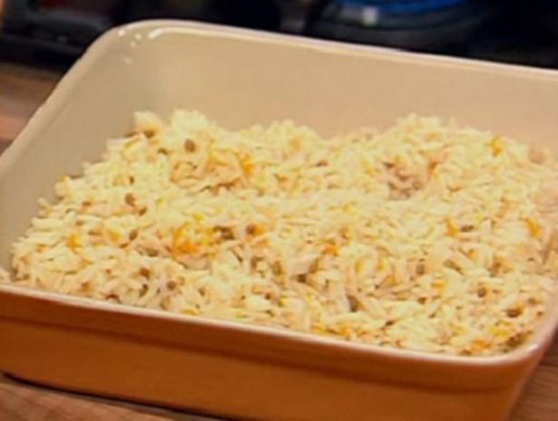Koriander-Reis - Rezept