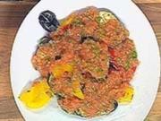 Ratatouille-Salat mit geriebenen Tomaten - Rezept