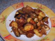 Mediterane Gnocchi-Gemüsepfanne - Rezept