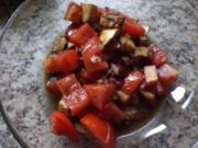 * Salat * Schwarzer Mozzarella Salat - Rezept