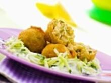 Frittierte Fischbälchen - Rezept