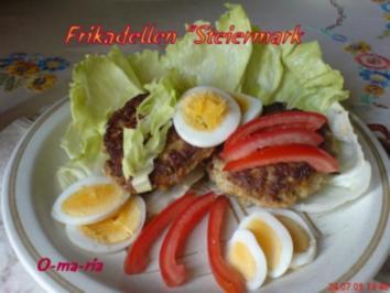 """Fleisch  Frikadellen """"Steiermark"""" - Rezept"""