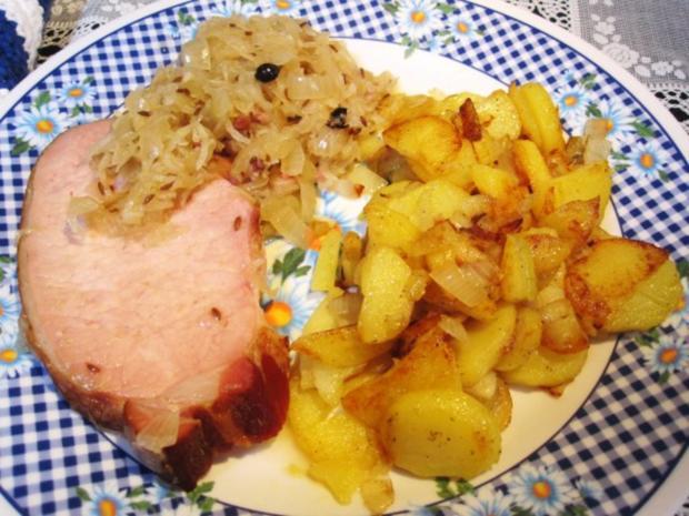 Kasslerbraten Mit Sauerkraut
