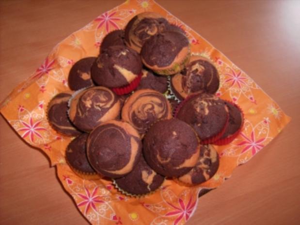 Marmor-Muffins - Rezept