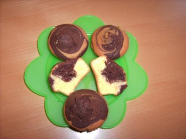 Marmor-Muffins - Rezept - Bild Nr. 2