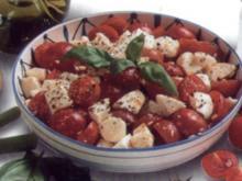 antipasti unser italienischer 3 farbensalat - Rezept