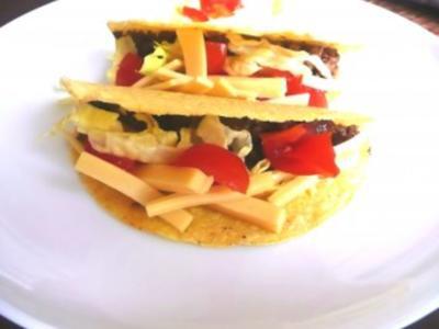 Gefüllte Tacos - Rezept