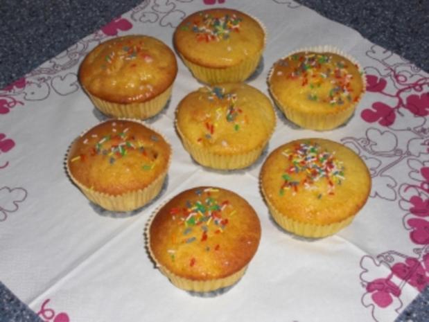 Mandarinen Grieß Muffin - Rezept