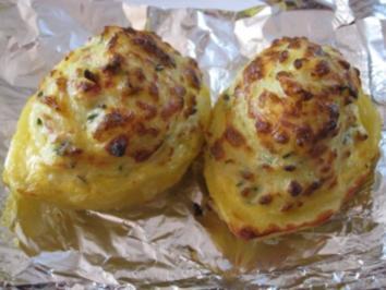 Gefüllte Kartoffel /  Ofenkartoffel  vielerlei verwendbar / gute Vorbereitung - Rezept