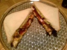 Club-Sandwich mit Avocadocreme - Rezept